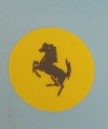 Early Ferrari Horn Button Decal Price: $20